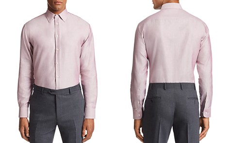 Emporio Armani Micro-Weave Tailored Fit Shirt - Bloomingdale's_2