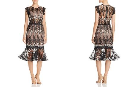 BRONX AND BANCO Dalia Illusion Lace Dress - Bloomingdale's_2