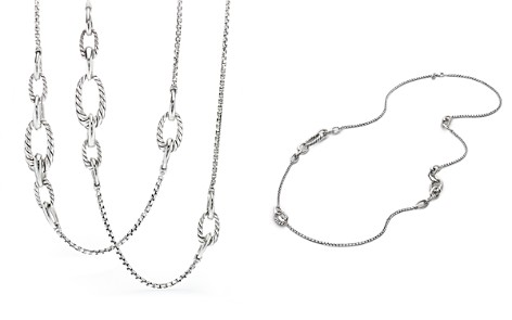 David Yurman Pure Form Chain Station Necklace - Bloomingdale's_2