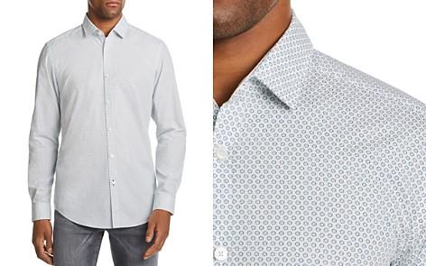 BOSS Lucky Micro-Floral-Print Regular Fit Shirt - Bloomingdale's_2