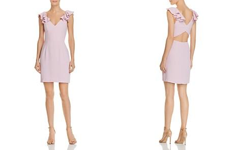 Amanda Uprichard Gimlet Ruffled Cutout Dress - Bloomingdale's_2