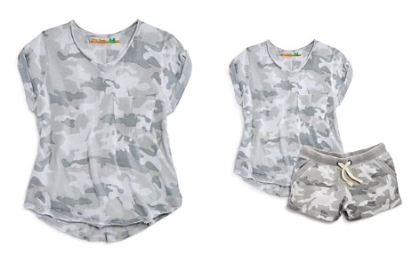 Vintage Havana Girls' Camo Burnout Tee - Big Kid - Bloomingdale's_2