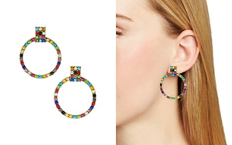 BAUBLEBAR Gemma Pavé Loop Drop Earrings - Bloomingdale's_2