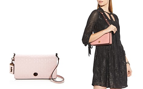 COACH 1941 Dinky Signature Leather Crossbody - Bloomingdale's_2
