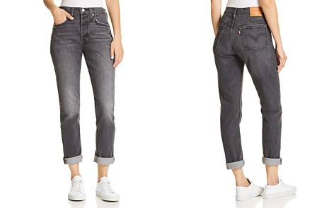 Levi's 501 Straight Jeans in Coal Black - Bloomingdale's_2