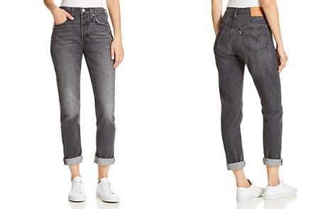 Levi's 501 Straight Jeans in Coal Black - Bloomingdale's_2