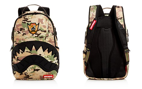 Sprayground Unisex Camo Shark Backpack - Bloomingdale's_2