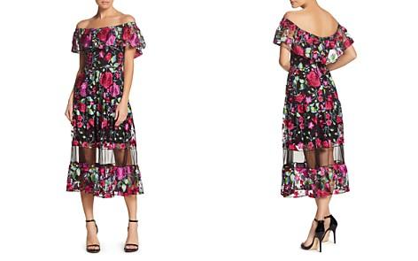 Dress the Population Gabriella Off-the-Shoulder Dress - Bloomingdale's_2