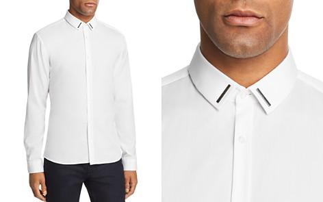 HUGO Ero Metal Trim Extra Slim Fit Button-Down Shirt - Bloomingdale's_2