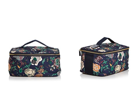 Tory Burch Tilda Medium Floral-Print Nylon Travel Cosmetics Box Case - Bloomingdale's_2