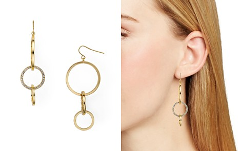 AQUA Interlocked Pave Hoop Earrings - 100% Exclusive - Bloomingdale's_2