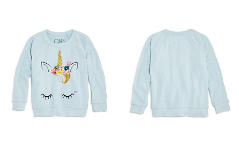 CHASER Girls' Raglan Unicorn Sweatshirt - Little Kid, Big Kid - Bloomingdale's_2