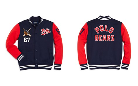 Polo Ralph Lauren Boys' Knit Baseball Jacket - Big Kid - Bloomingdale's_2
