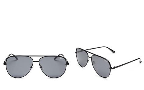Quay Women's High Key Aviator Sunglasses, 56mm - Bloomingdale's_2