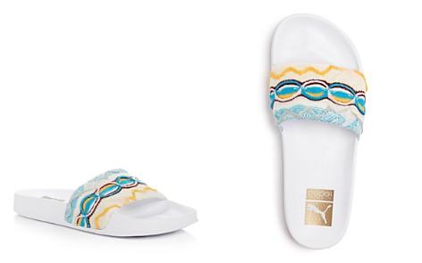PUMA x Coogi Men's Leadcat Embroidered Slide Sandals - Bloomingdale's_2