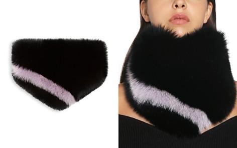 Charlotte Simone Bandit Fox-Fur Bandana - Bloomingdale's_2