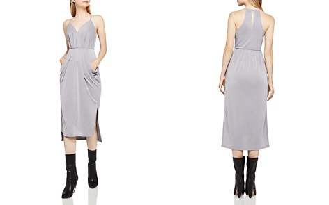 BCBGeneration Faux Wrap Midi Dress - Bloomingdale's_2