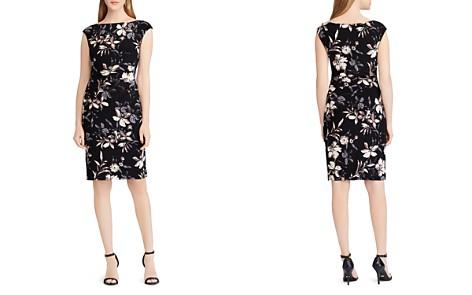 Lauren Ralph Lauren Petites Floral Jersey Dress - Bloomingdale's_2