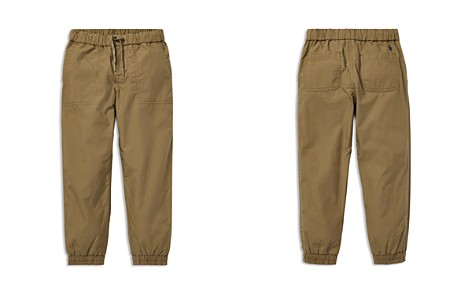 Polo Ralph Lauren Boys' Cotton Poplin Jogger Pants - Little Kid - Bloomingdale's_2