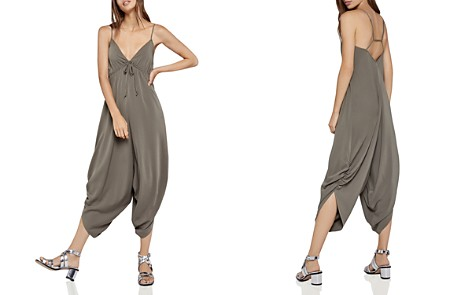BCBGeneration Draped Cropped Jumpsuit - Bloomingdale's_2