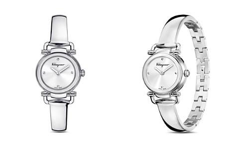 Salvatore Ferragamo Gancino Casual Silver Watch, 26mm - Bloomingdale's_2