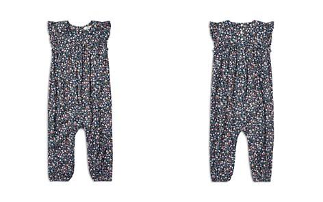 Ralph Lauren Girls' Floral Flutter-Sleeve Romper - Baby - Bloomingdale's_2