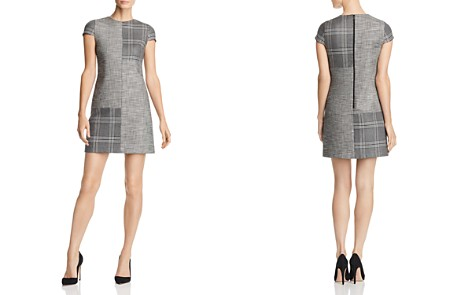 Alice + Olivia Coley Mixed Plaid A-Line Shift Dress - Bloomingdale's_2