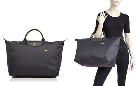 Longchamp Le Pliage Club Large Nylon Canvas Travel Bag - Bloomingdale's_2