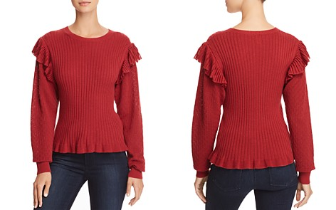 La Vie Rebecca Taylor Mixed-Stitch Sweater - Bloomingdale's_2