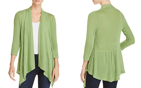 Status by Chenault Waterfall Open-Front Cardigan - Bloomingdale's_2