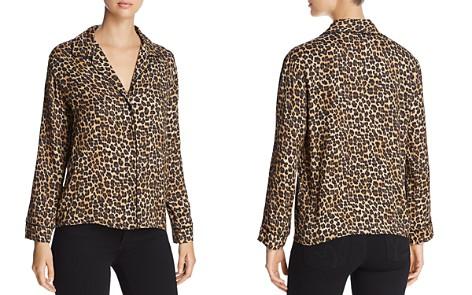 Three Dots Leopard Pajama-Style Shirt - Bloomingdale's_2