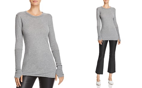 Enza Costa Thumbhole-Detail Top - Bloomingdale's_2