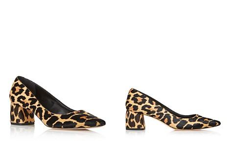 kate spade new york Women's Madlyne Pointed Toe Calf Hair Mid-Heel Pumps - 100% Exclusive - Bloomingdale's_2