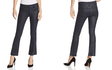 DL1961 Lara Instasculpt Coated Crop Boot Jeans in Marin - Bloomingdale's_2