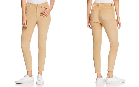 Current/Elliott The Stiletto High-Rise Corduroy Pants - Bloomingdale's_2