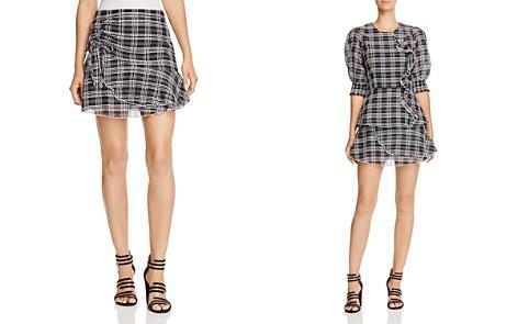 Parker Chris Plaid Mini Skirt - Bloomingdale's_2