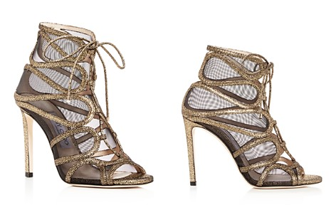 Jimmy Choo Women's Malena 100 Crackled Leather High-Heel Sandals - Bloomingdale's_2