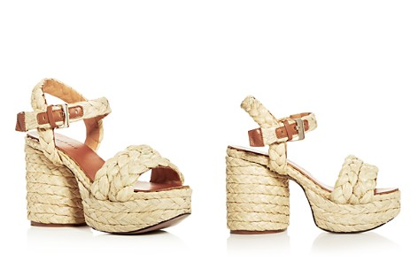 Robert Clergerie Women's Vittoria Raffia High-Heel Platform Sandals - Bloomingdale's_2