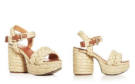 Robert Clergerie Women's Vittoria Raffia High-Heel Platform Sandals - Bloomingdale's_2