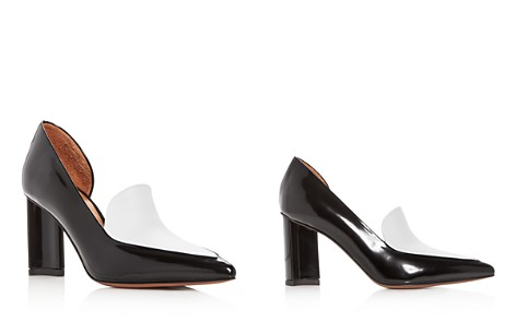 Robert Clergerie Women's Kalliste Two-Tone Leather Pointed Toe Pumps - Bloomingdale's_2