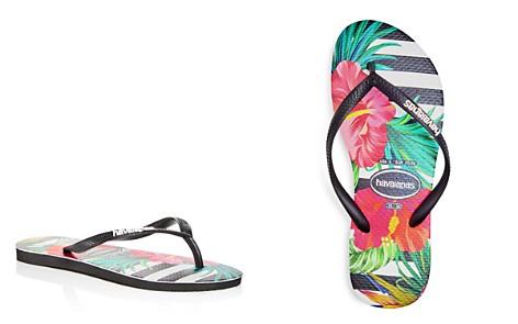 havaianas Women's Tropical Floral Slim Flip-Flops - Bloomingdale's_2
