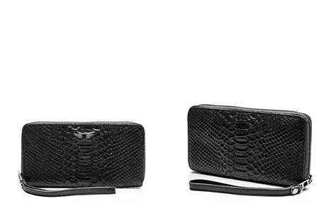 Zadig & Voltaire Compagnon Savage Medium Croc-Embossed Leather Wallet - Bloomingdale's_2