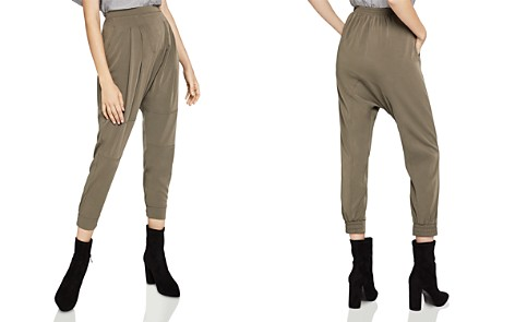 BCBGeneration Pleated Tapered Pants - Bloomingdale's_2