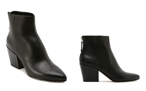 Dolce Vita Women's Almond Toe Back-Zip Leather Booties - Bloomingdale's_2