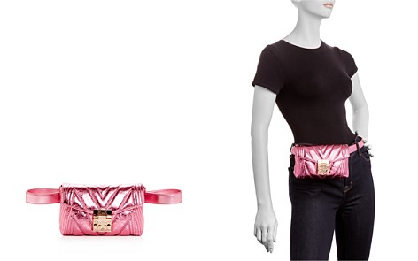 MCM Patricia Small Quilted Leather Convertible Belt Bag - Bloomingdale's_2