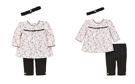 Little Me Girls' Rose-Print Tunic, Leggings & Headband Set - Baby - Bloomingdale's_2