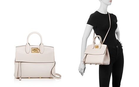 Salvatore Ferragamo The Studio Bag Leather Satchel - Bloomingdale's_2