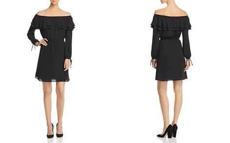 MICHAEL Michael Kors Ruffled Off-the-Shoulder Dress - Bloomingdale's_2