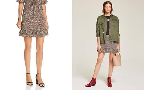 AQUA Flounce-Hem Leopard Print Skirt - 100% Exclusive - Bloomingdale's_2