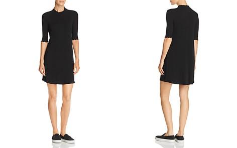 AQUA Ruffle-Trim Rib-Knit Dress - 100% Exclusive - Bloomingdale's_2